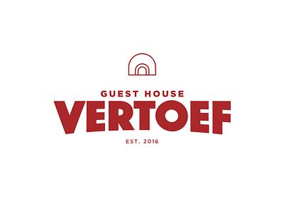 Guest House Vertoef - logo design identity branding design logo