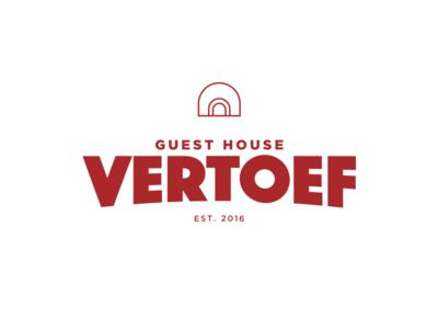 Guest House Vertoef - logo design
