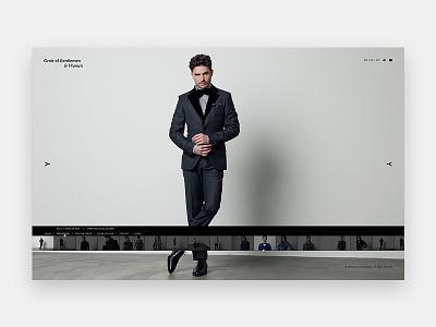Circle of Gentlemen gentlemen fashion visual design ux website