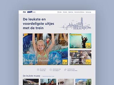 NS Spoordeelwinkel discount train travel