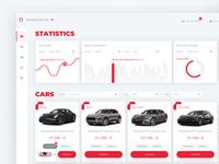 Car Park web application (concept) rebound