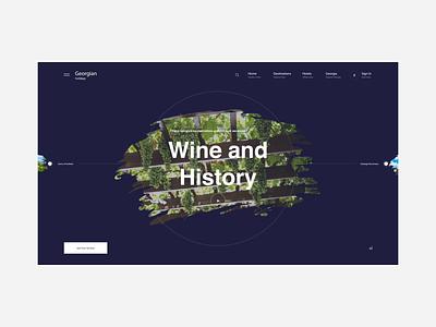 Georgian Holidays brand interaction ux design web design web ux ui design inspiration design ui
