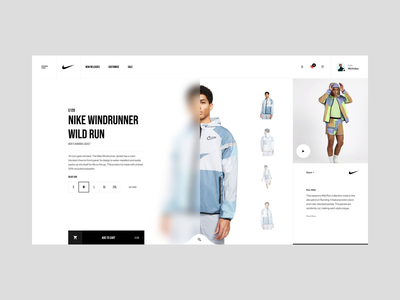Nike Product brand interaction ux design web design web ux ui design inspiration ui design