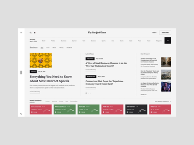 NY Times Interaction brand interaction ux design web design web ux ui design inspiration ui design