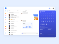 Sboard UI chat app chat design chat ui message messenger design dashboard ui messenger chat dashboard brand interaction ux design web design web ux ui design inspiration ui design