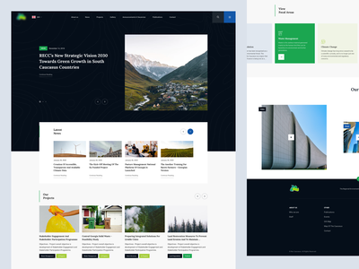 REC Redesign Concept branding interaction ux design web design ux web ui design inspiration ui design
