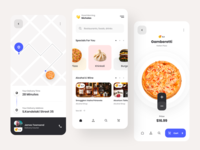 Foodio app design delivery ui food ui delivery app delivery food app food app ux design web ux ui design inspiration ui design