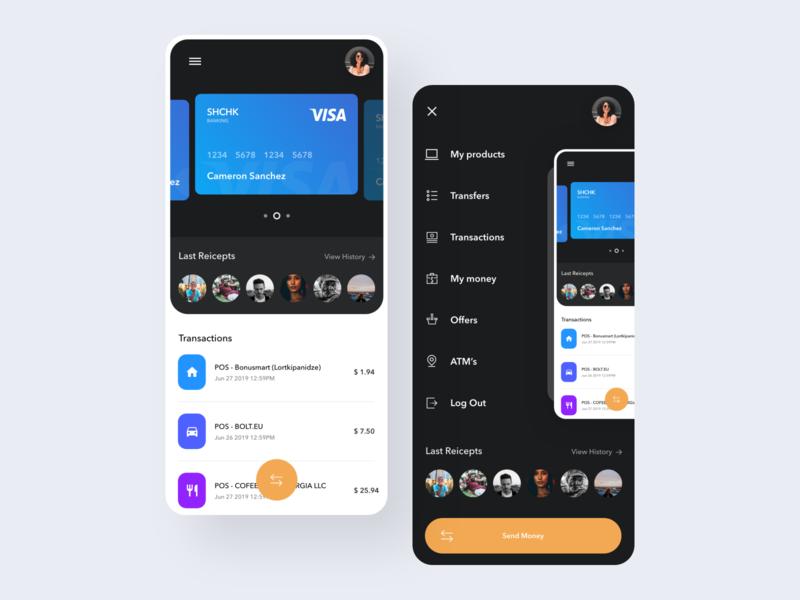 Banking app banking app banking mobile app app ui app ux design ux ui design inspiration ui design