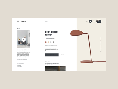 Muuto Lamps Interaction brand interaction web design ux design web ux ui design inspiration ui design
