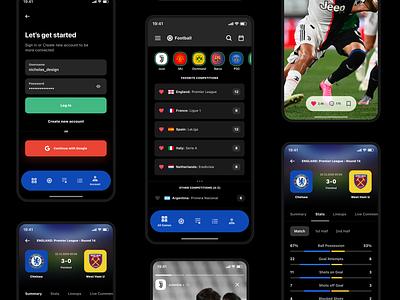 LiveScores live sport live football scores flashscore bet livescores livescore scores sport score sport brand branding ux ui design inspiration ui design
