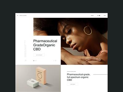 APTH Lab lookbook brand web design ux design web ux ui design inspiration ui design