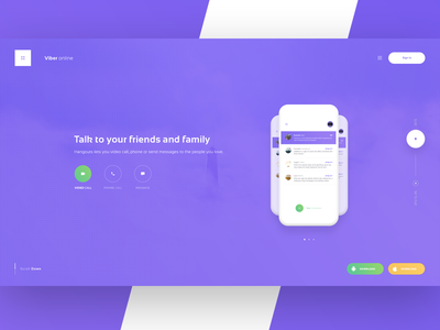 Personal 05: Viberonline - Home Page