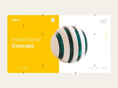Muse.Pro motion brand transition ui portfolio lookbook interaction inspiration design