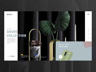 Muse.Design motion brand transition ui portfolio lookbook interaction inspiration design