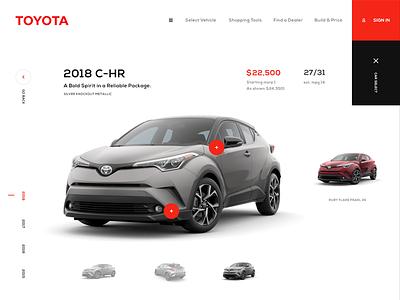 Toyota Xperience ergemla ux daily web web design ui design brand ui design inspiration
