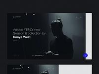 Yeezy interaction screen