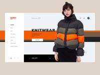 Fendi Store UI #2