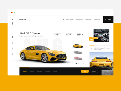 MBUSA - Mercedes Benz Store ux daily ux design web design web brand ui design inspiration design ui