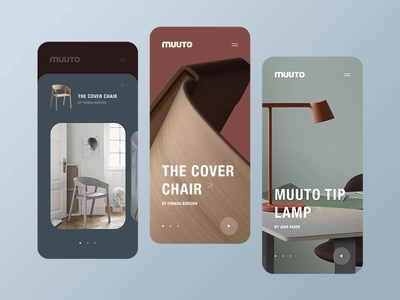 Muuto Store #3 ui design ui design web web design inspiration interaction brand transition lookbook motion ux ux design minimal clean shop ergemla