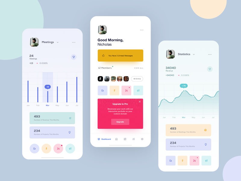 Dshb Reports app concept app design app ui design inspiration design ui