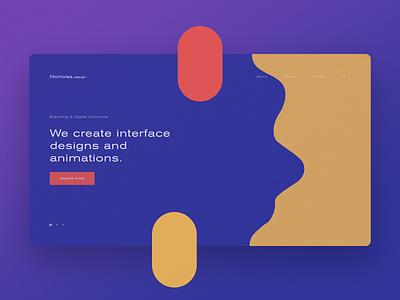 N.Design ergemla minimal ux design lookbook portfolio ux web design brand web ui design inspiration design ui