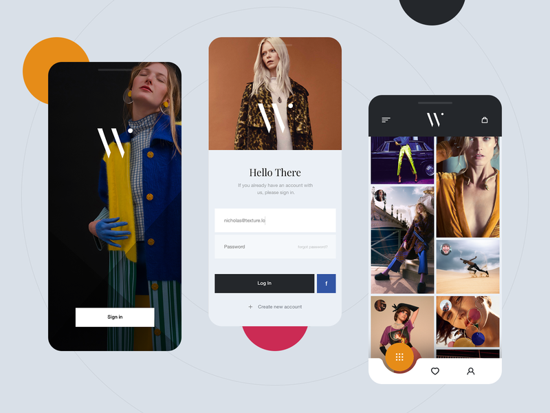 Waldron.app shopping art shopping online shop online store store app store luxury app luxury fashion app fashion app design application design app ux design inspiration ux ui design design ui