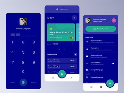CBT Bank Wallet App bank app bank business app busines finance app finance app ux design ux ui design design ui
