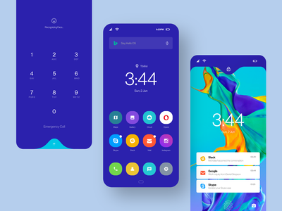 Huawei OS Exploration  2 ui design inspiration ui design ux design os operation system osdesign huawei huaweios mobile mobile ui mobile design