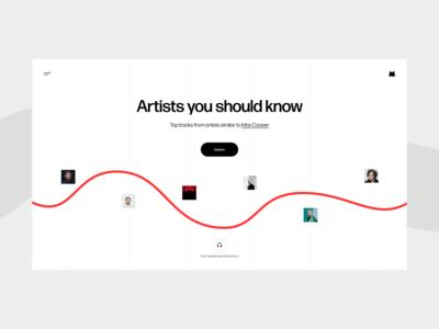 M-Music UI
