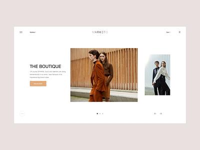 Marketo UI Interaction motion portfolio transition lookbook interaction web design ui design inspiration design ui