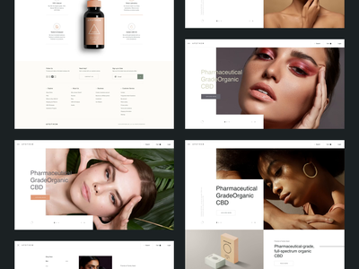 APTH Lab cbd cbd logo cbd oil brand interaction ux design ux web design web ui design inspiration design ui