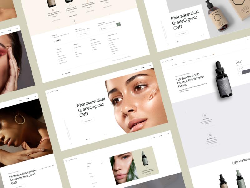 APTH Lab 3 brand minimal portfolio ux web design web ui design inspiration design ui