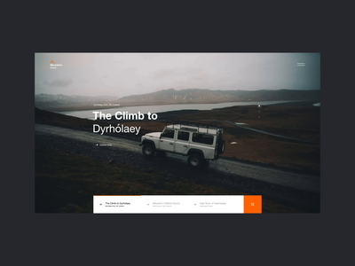 Mountains.Travel motion interaction ux design web design web ux ui design inspiration design ui