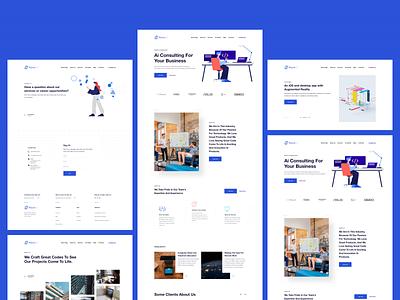MaxinAI Design brand interaction ux design web design web ux ui design inspiration design ui