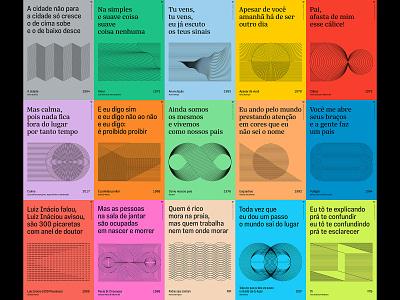 Tipoversos mpb poster design typography brazil design music graphic design poster illustration