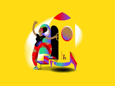 Ponto de Virada #11 work podcast noise illustration grain colorful coca-cola character career b9