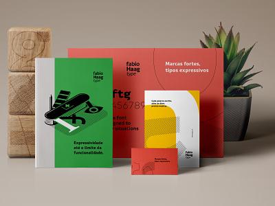 Fabio Haag Type type fabio haag lines soft colors gestalt isometric illustration graphic design visual identity type design designstudio brand identity typography