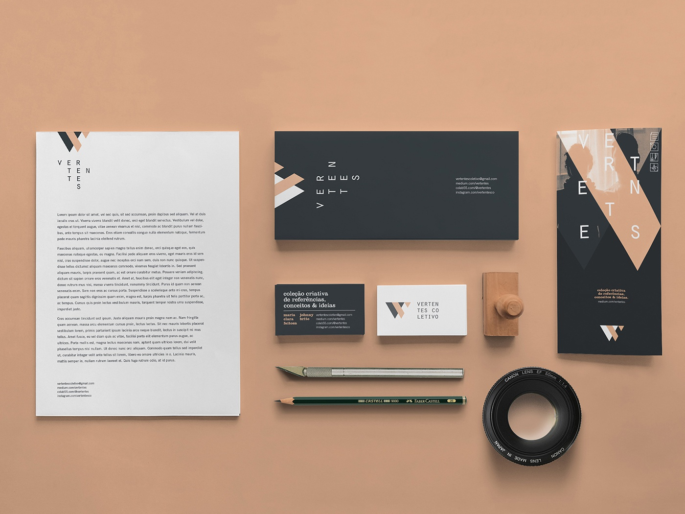 Vertentes Coletivo photograhy brazil vertentes branding design studio graphic design collective brand identity logo