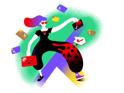 Illustrations for Ponto de Virada podcast