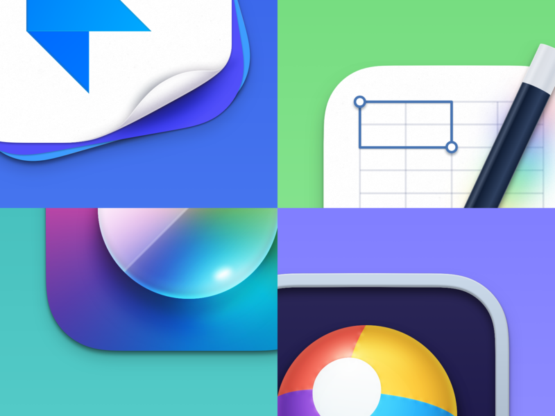 Discipline. - a macOS Big Sur icon pack with 100+ icons details theming mac icon macos design logo big sur sketch mac colorful illustration app apple icon