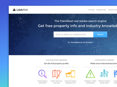LavaMap Homepage