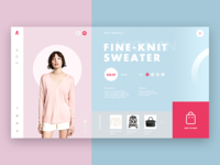 Women 's clothing website design