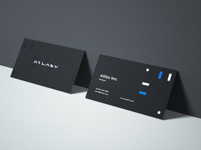 Atlasv name card  concept design