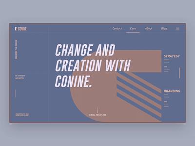 Transform old stuff to new design step 2 illustration graphic website design web motion ux branding conine design