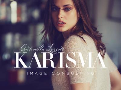 Karisma - Logo Design webdesign toronto stylist canada ottawa concept logo graphic girl typography designer fashion