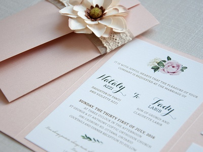 Wedding Invitation - Vintage/Tuscan branding graphicdesign graphic typography invitation love vintage canada ottawa italy tuscan wedding