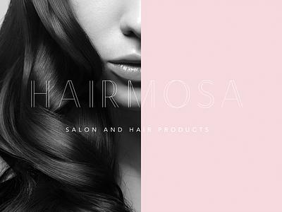 Hairmosa Salon newlook stylist beauty ottawabusiness logodesign fashion hairsalon graphicdesign branding 613 myottawa ottawa
