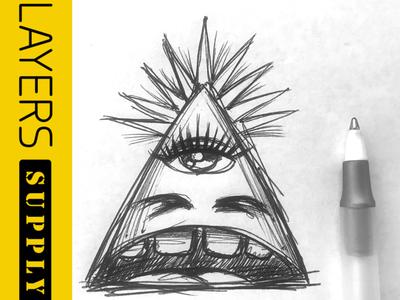 Inking a third eye