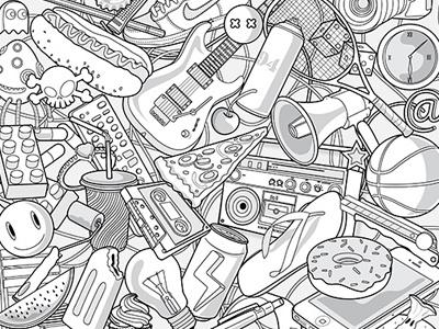 Achilles Krüger digital painting 2d illustration character design illustration