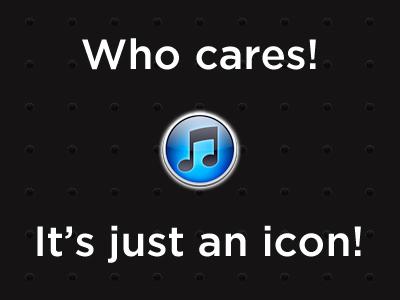Best iTunes icon ever!